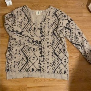Anthropologie sweater size L